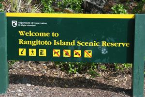 Rangitoto Island Scenic Preserve, New Zealand